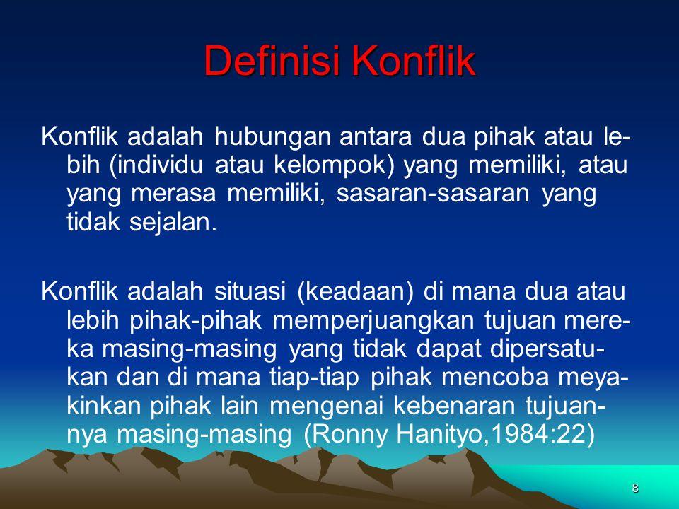 Definisi Konflik