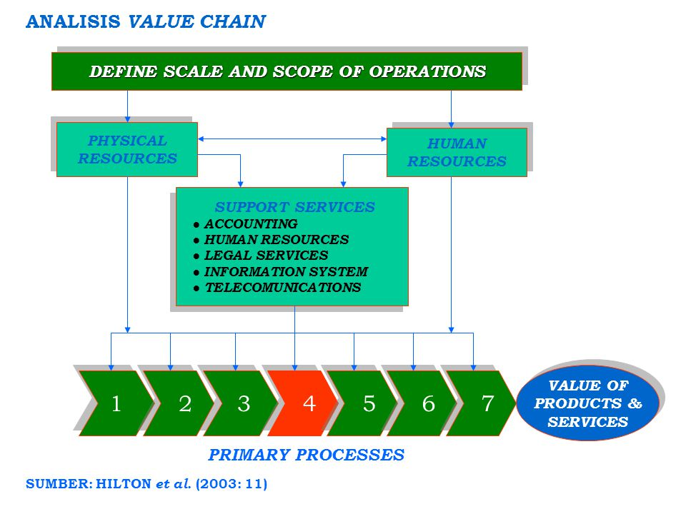 DEFINE SCALE AND SCOPE OF OPERATIONS SUMBER: HILTON et al. (2003: 11)
