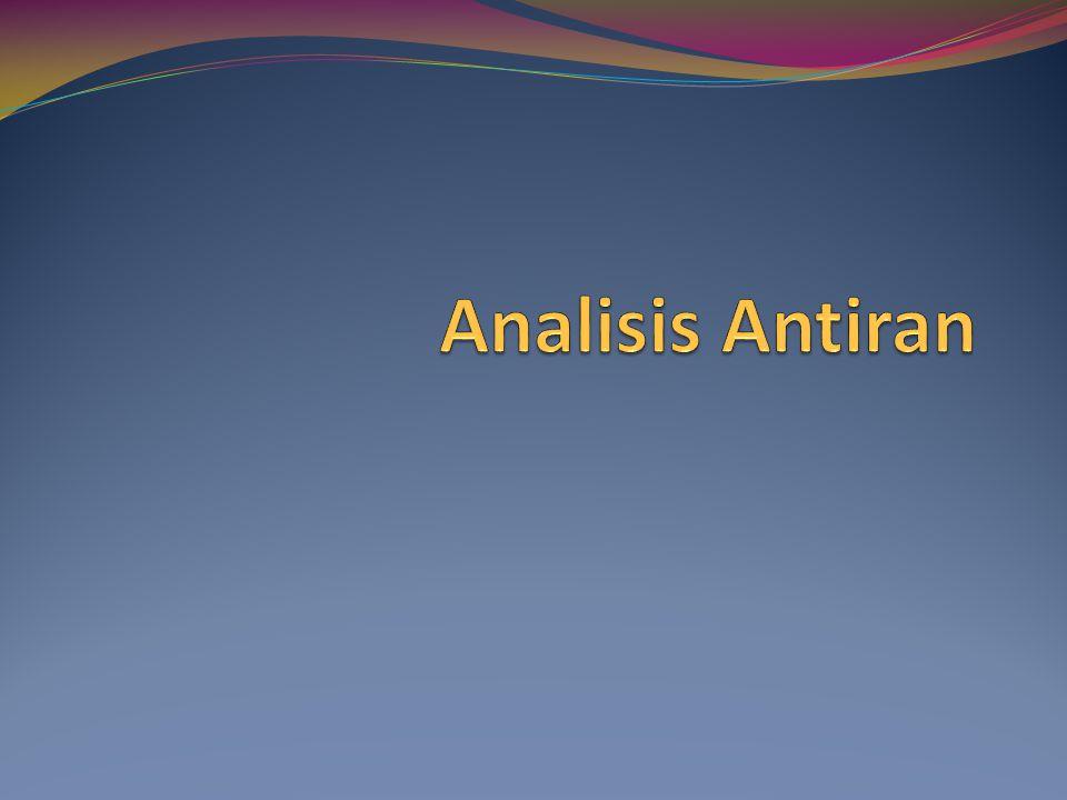 Analisis Antiran