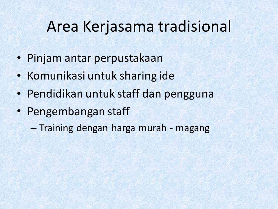 Area Kerjasama tradisional