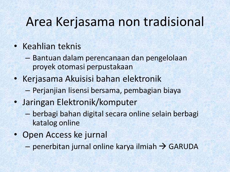 Area Kerjasama non tradisional