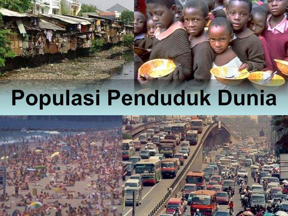 Populasi Penduduk Dunia