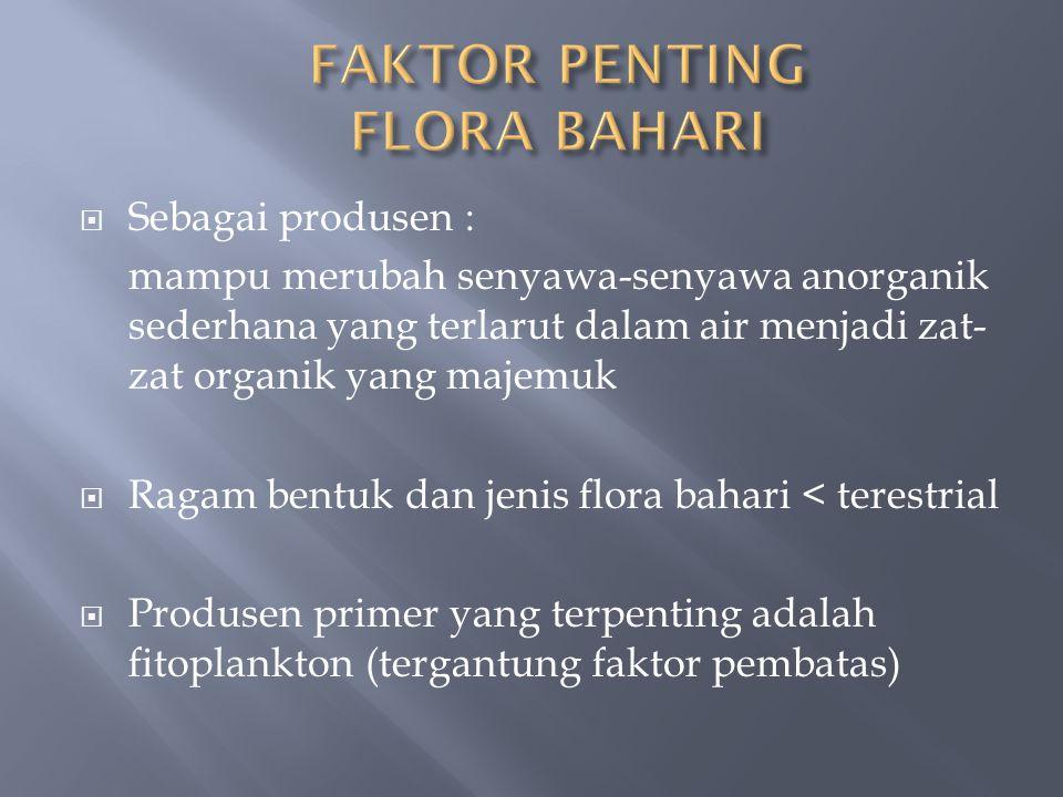 FAKTOR PENTING FLORA BAHARI