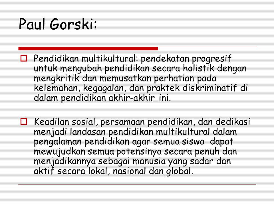 Paul Gorski: