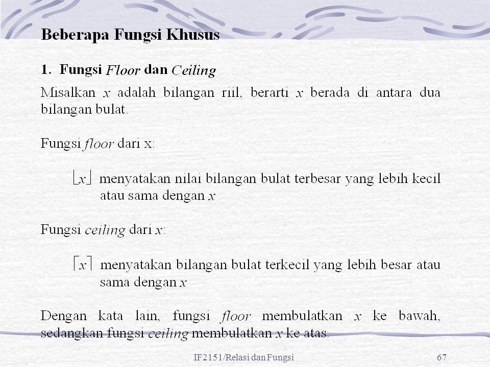 IF2151/Relasi dan Fungsi