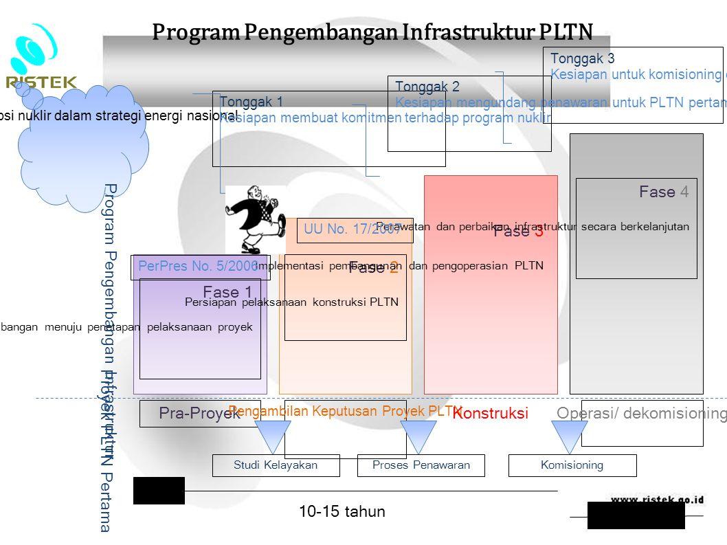 Program Pengembangan Infrastruktur PLTN