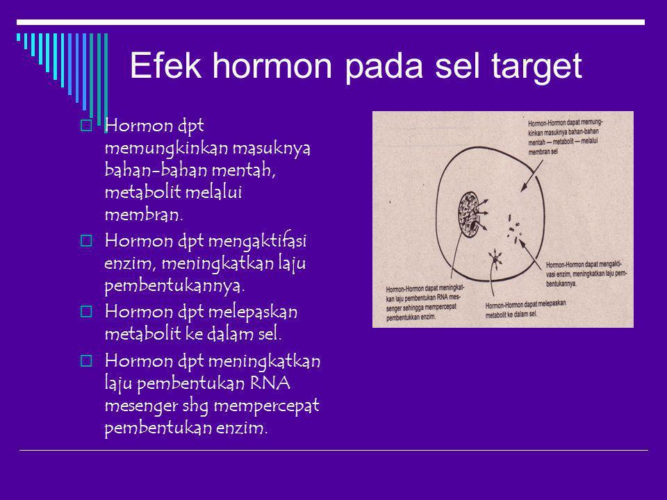 Efek hormon pada sel target