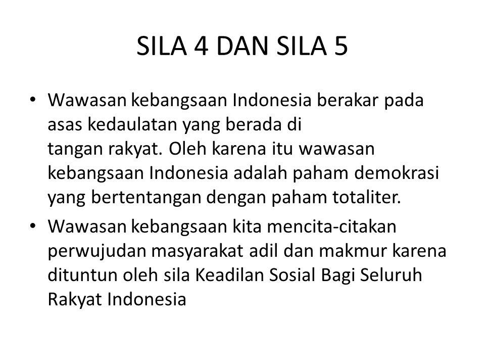 SILA 4 DAN SILA 5