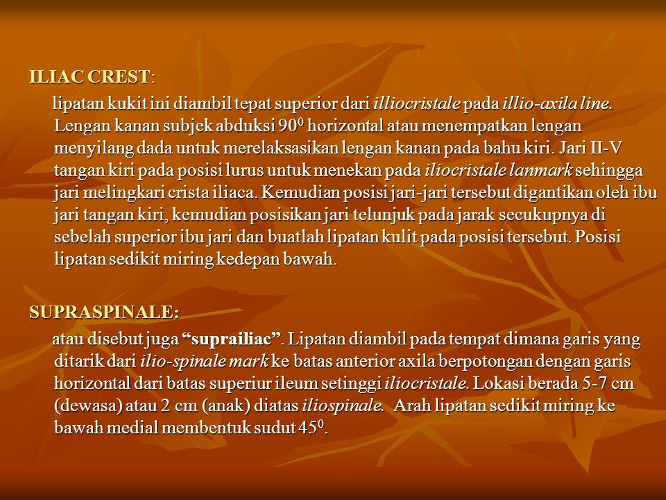 ILIAC CREST: