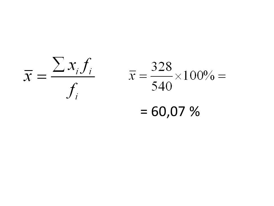 = 60,07 %