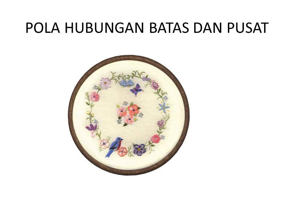 POLA HUBUNGAN BATAS DAN PUSAT