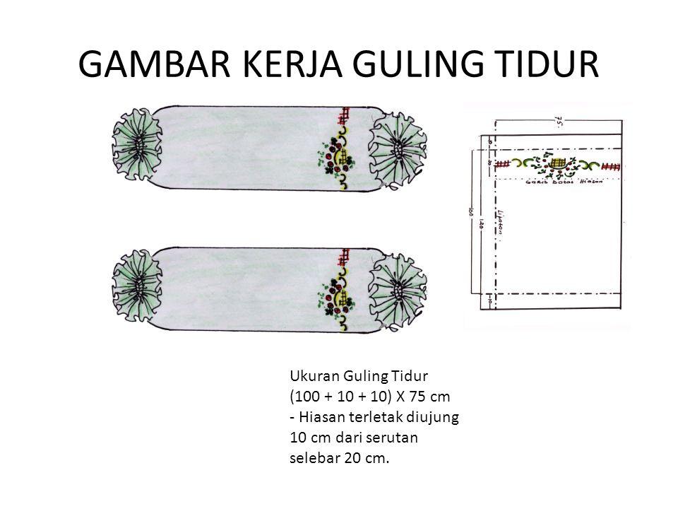 GAMBAR KERJA GULING TIDUR