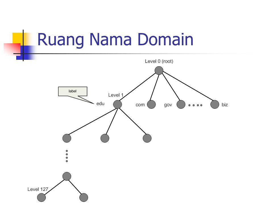 Ruang Nama Domain
