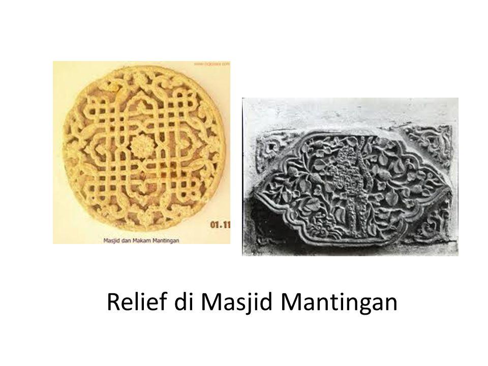 Relief di Masjid Mantingan
