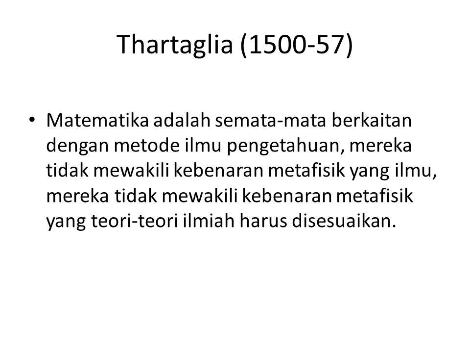Thartaglia (1500-57)