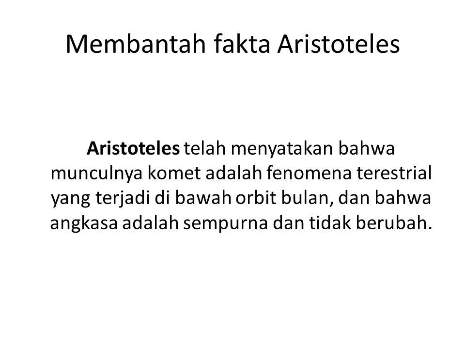 Membantah fakta Aristoteles