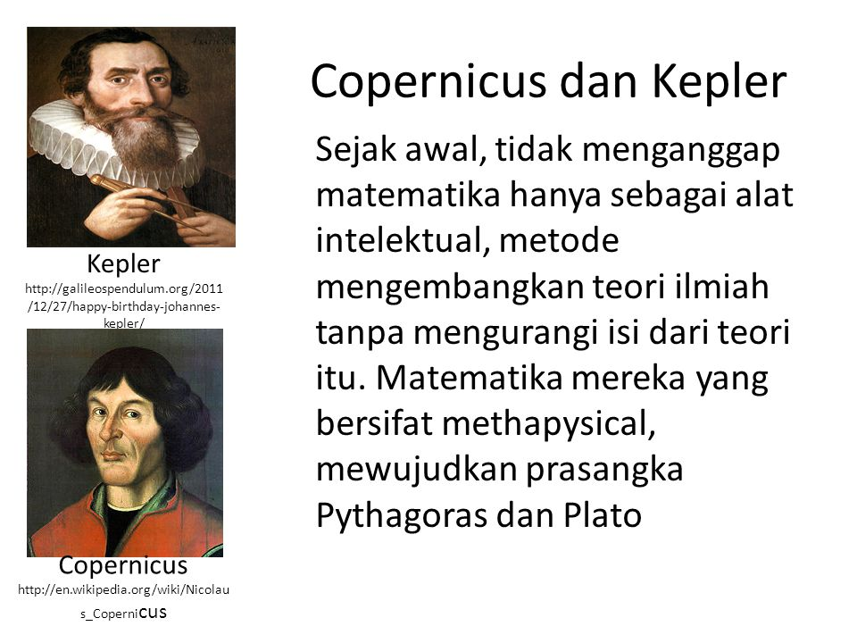 Copernicus dan Kepler