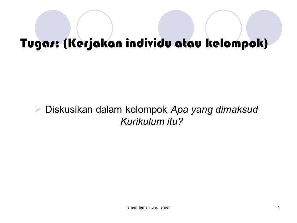 Tugas: (Kerjakan individu atau kelompok)
