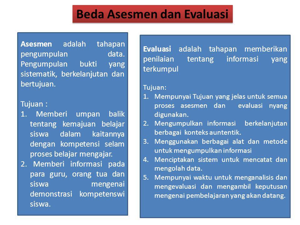 Beda Asesmen dan Evaluasi