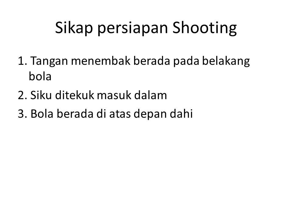 Sikap persiapan Shooting
