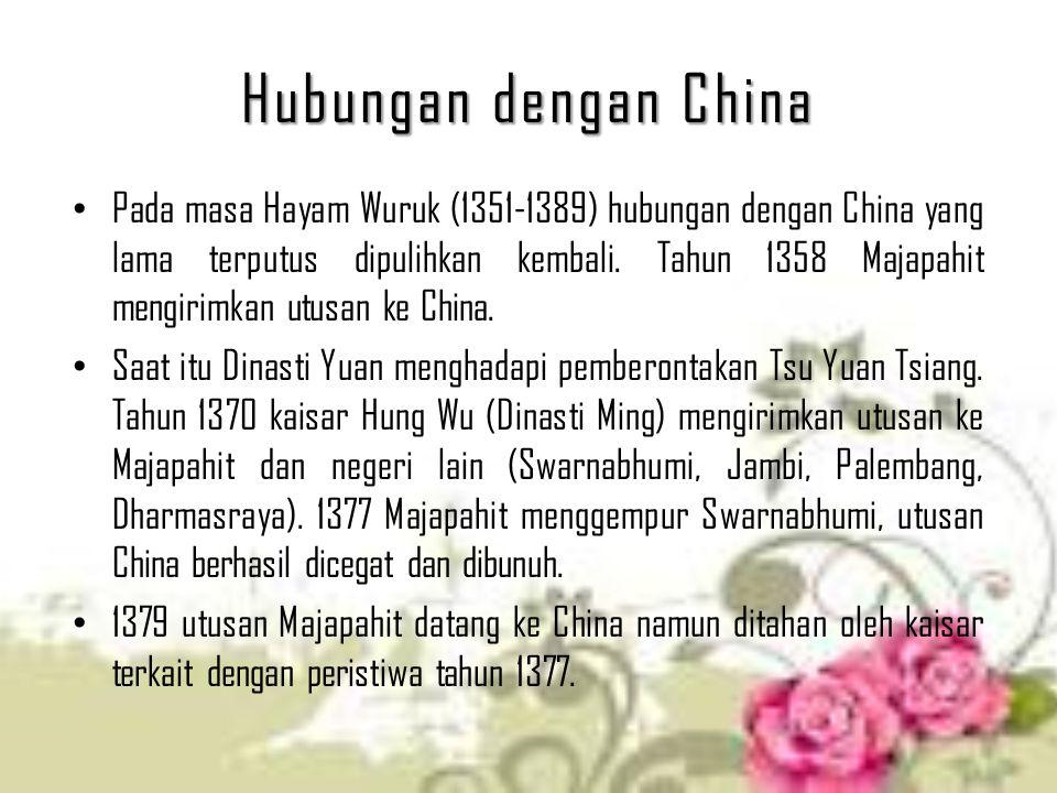 Hubungan dengan China