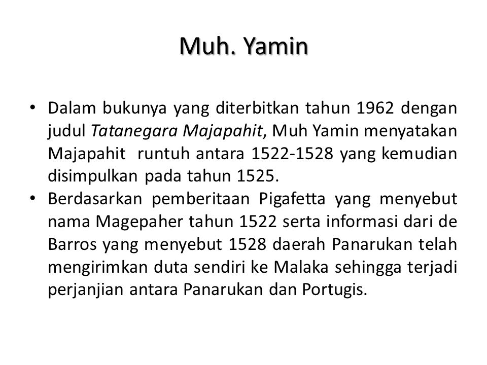 Muh. Yamin