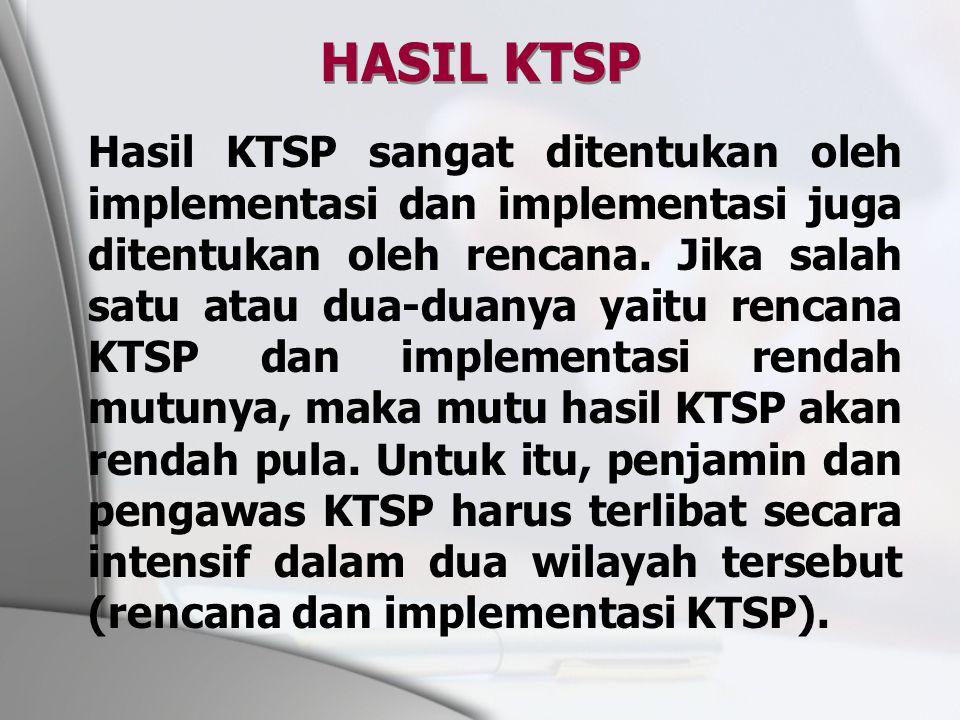 HASIL KTSP