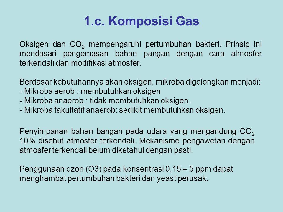 1.c. Komposisi Gas