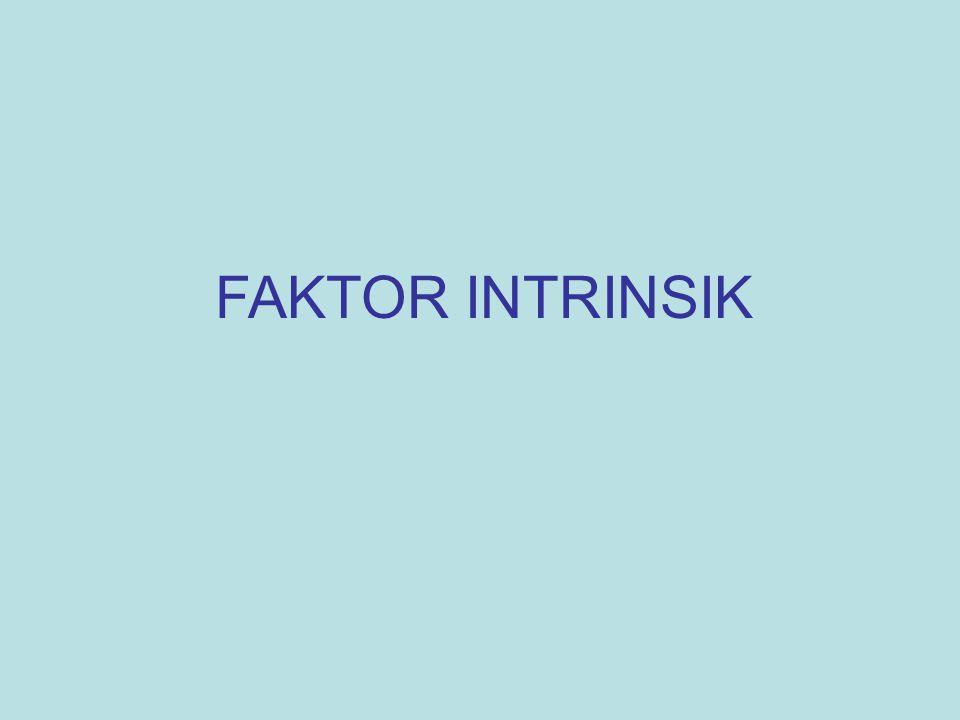 FAKTOR INTRINSIK
