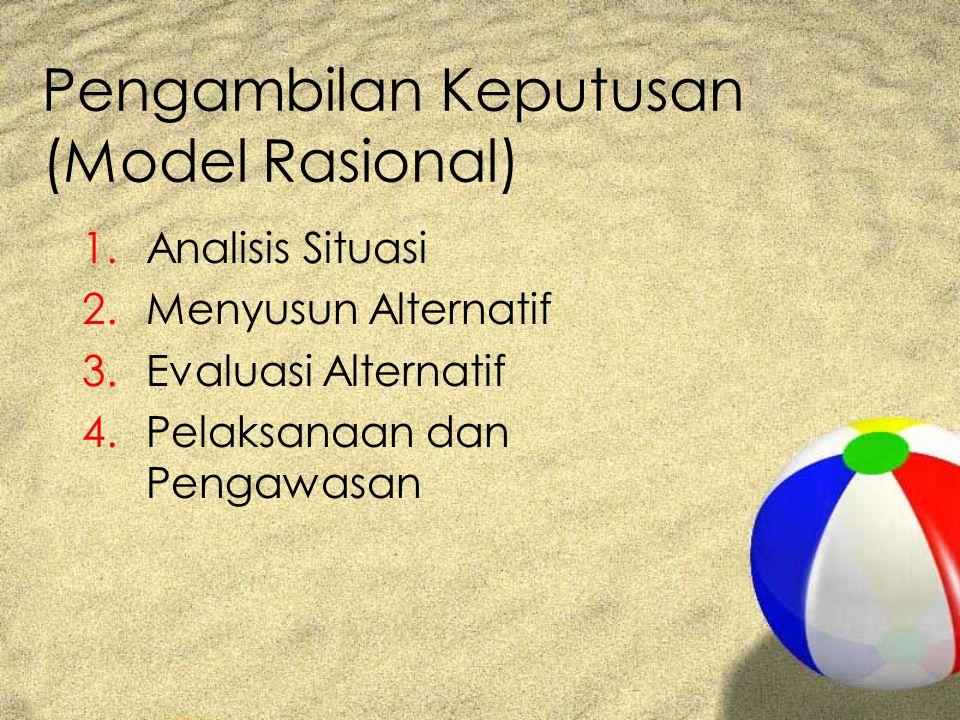 Pengambilan Keputusan (Model Rasional)