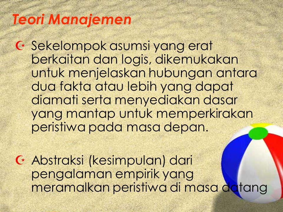 Teori Manajemen