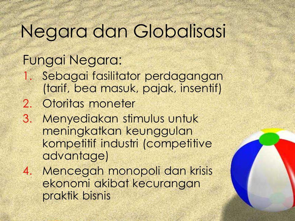 Negara dan Globalisasi