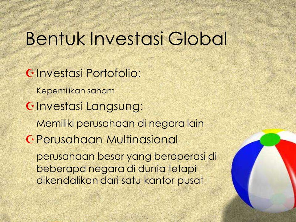 Bentuk Investasi Global