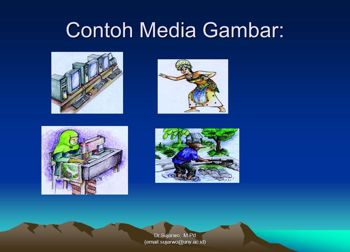 Contoh Media Gambar: Dr.Sujarwo, M.Pd (email:sujarwo@uny.ac.id)