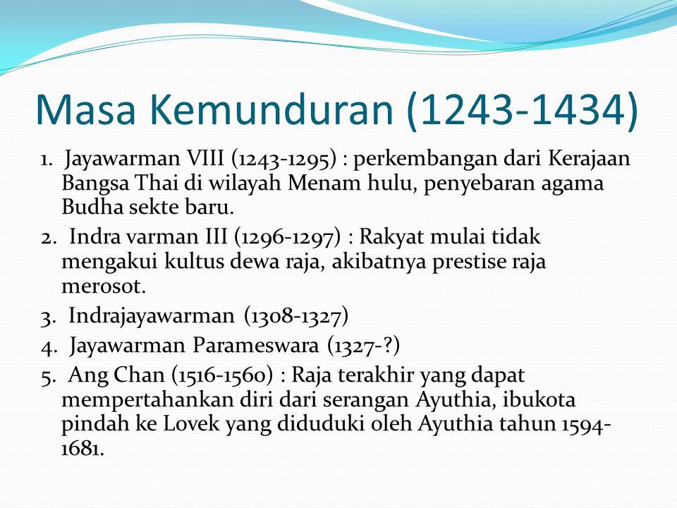 Masa Kemunduran (1243-1434)