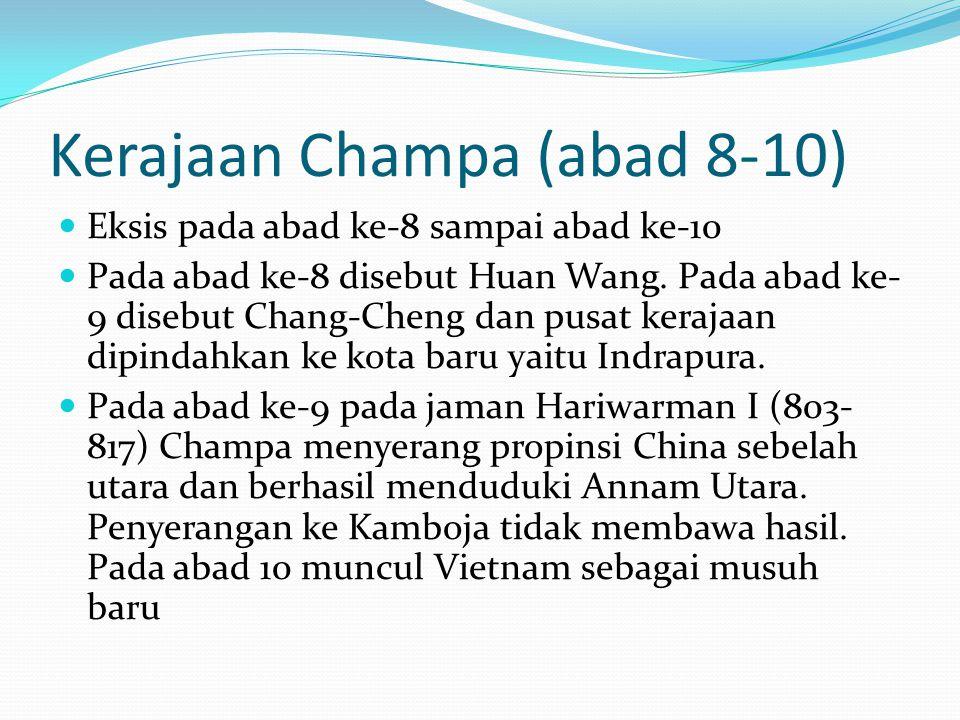 Kerajaan Champa (abad 8-10)