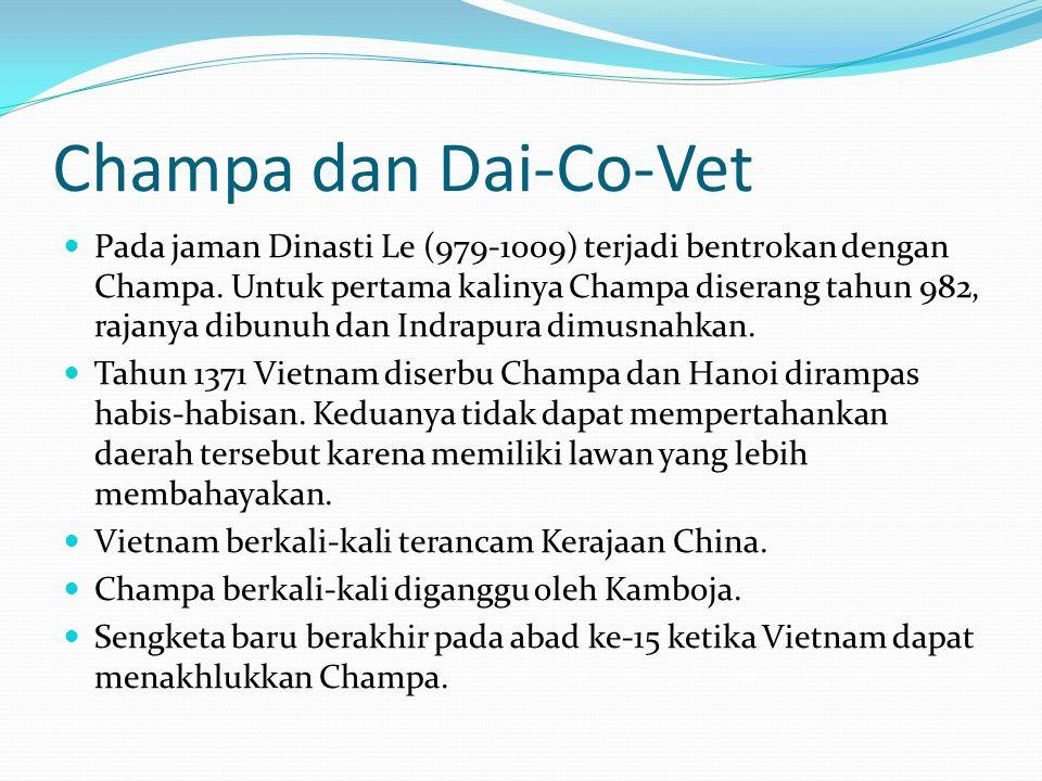 Champa dan Dai-Co-Vet