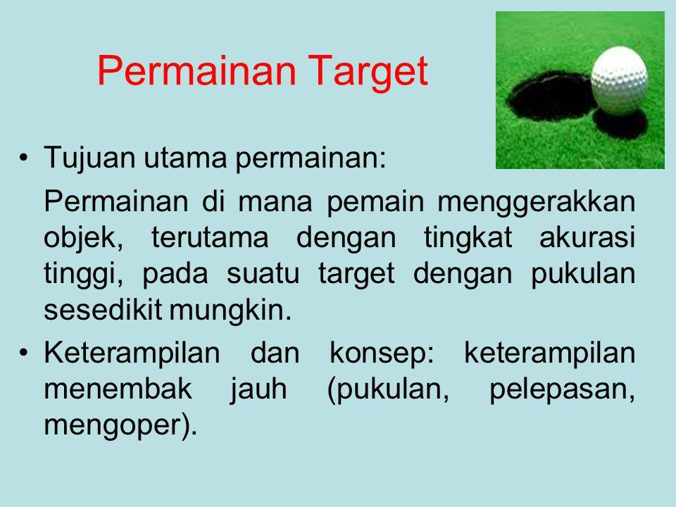 Permainan Target Tujuan utama permainan: