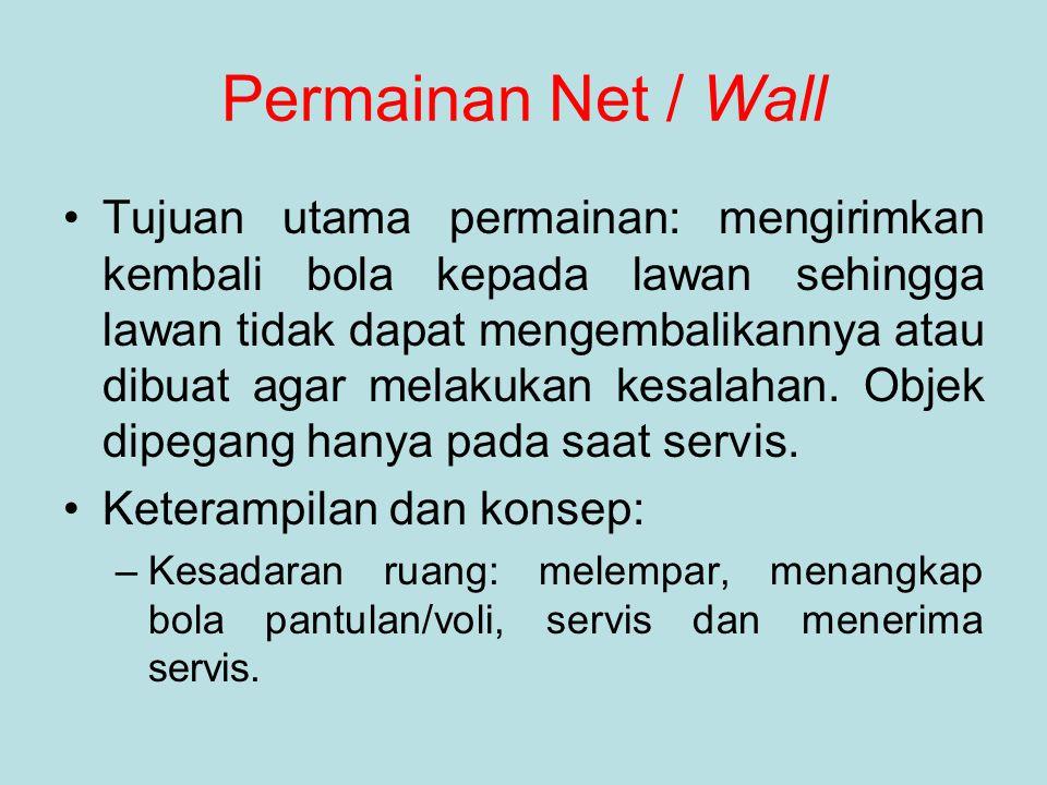 Permainan Net / Wall