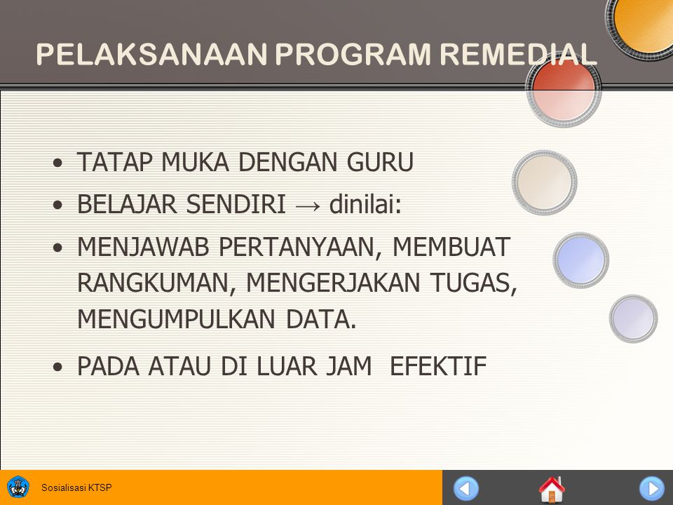 PELAKSANAAN PROGRAM REMEDIAL