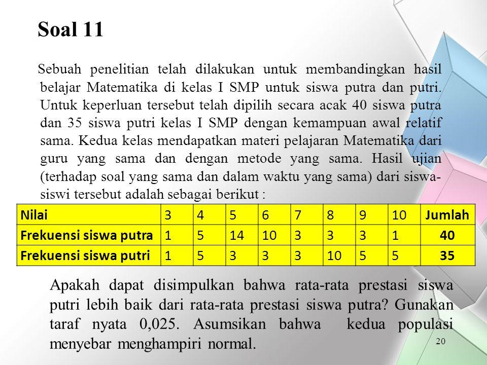 Soal 11