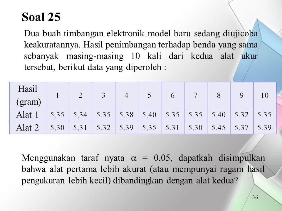 Soal 25