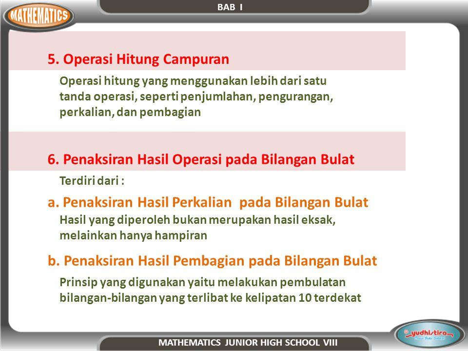 5. Operasi Hitung Campuran