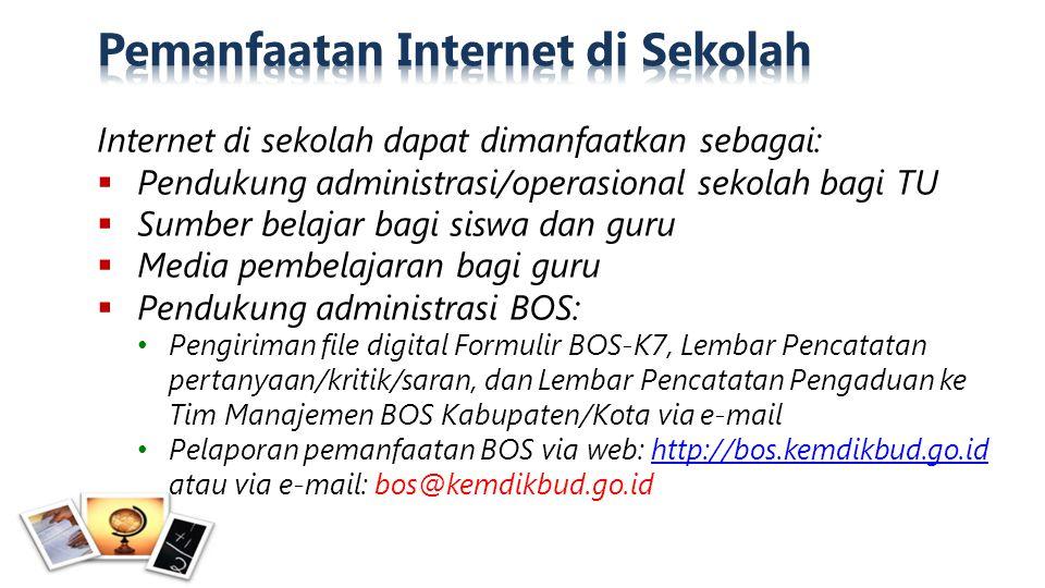 Pemanfaatan Internet di Sekolah
