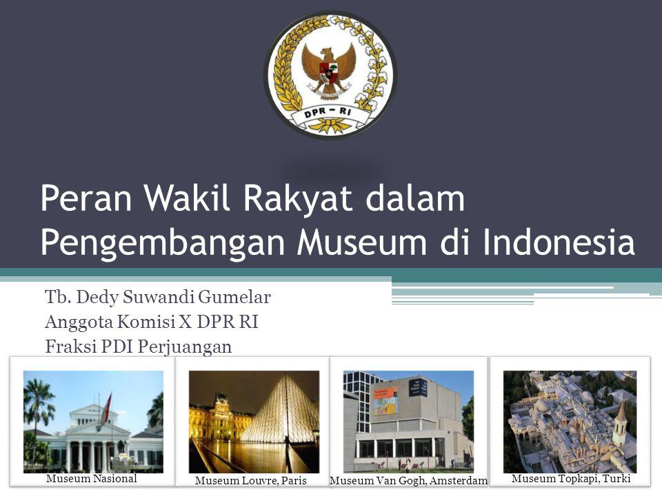 Peran Wakil Rakyat dalam Pengembangan Museum di Indonesia