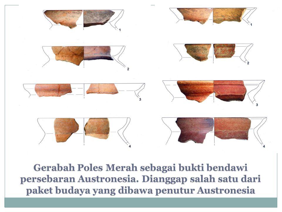 Gerabah Poles Merah sebagai bukti bendawi persebaran Austronesia