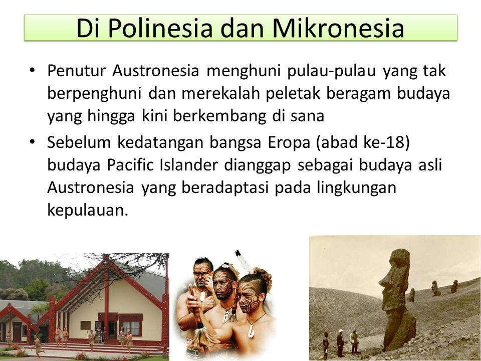 Di Polinesia dan Mikronesia
