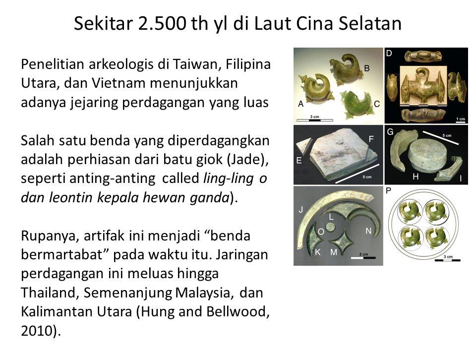 Sekitar 2.500 th yl di Laut Cina Selatan