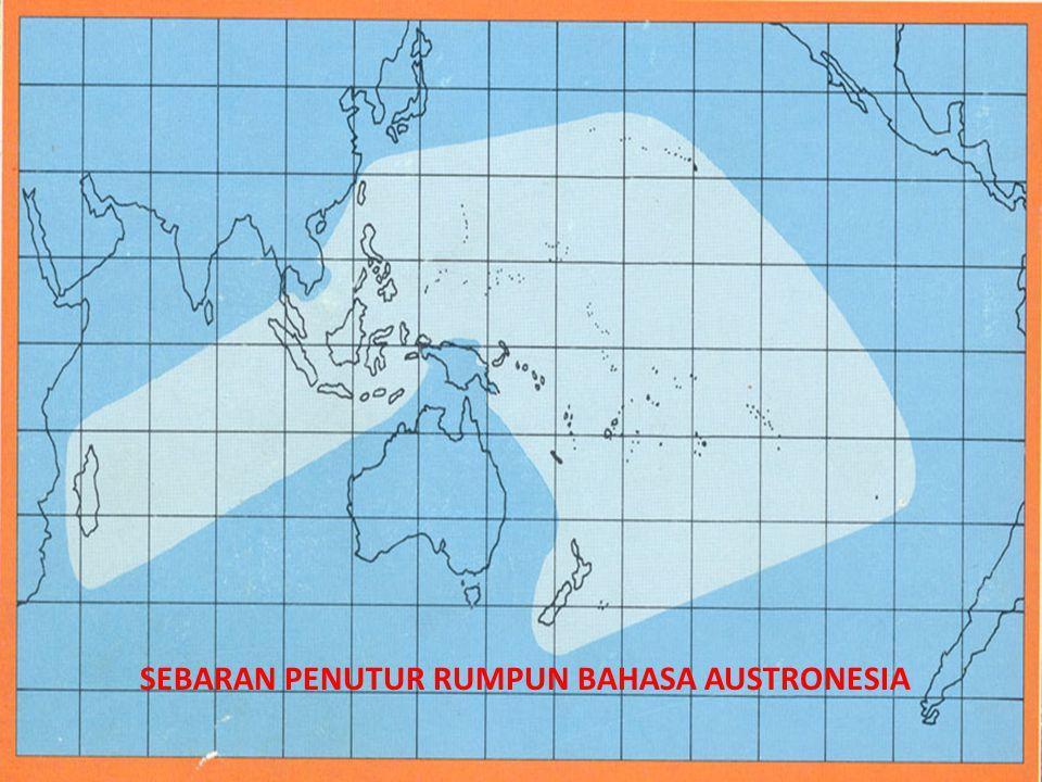 SEBARAN PENUTUR RUMPUN BAHASA AUSTRONESIA