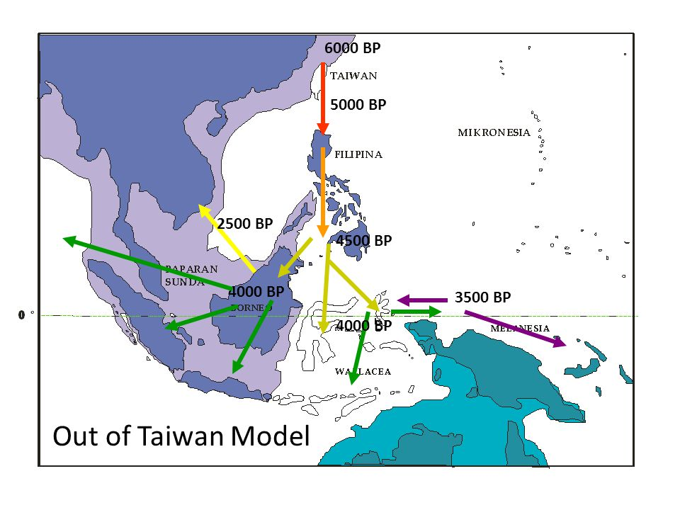 Out of Taiwan Model 6000 BP 5000 BP 2500 BP 4500 BP 4000 BP 3500 BP